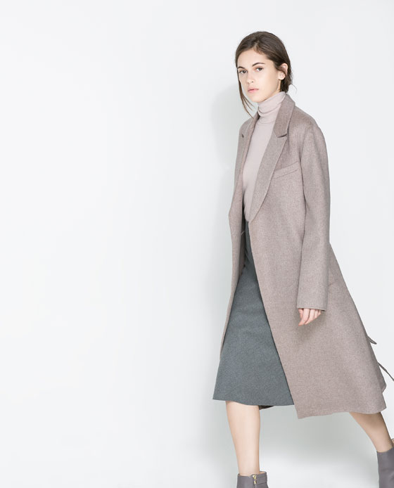 ZARA Studio Blogger Coat
