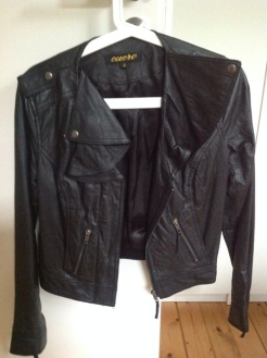 Lederjacke, echtes Leder, Größe S, Preis 50 EUR