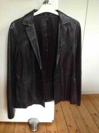 STEFANEL Leder Blazer, getragen, Größe S, Preis 70 EUR