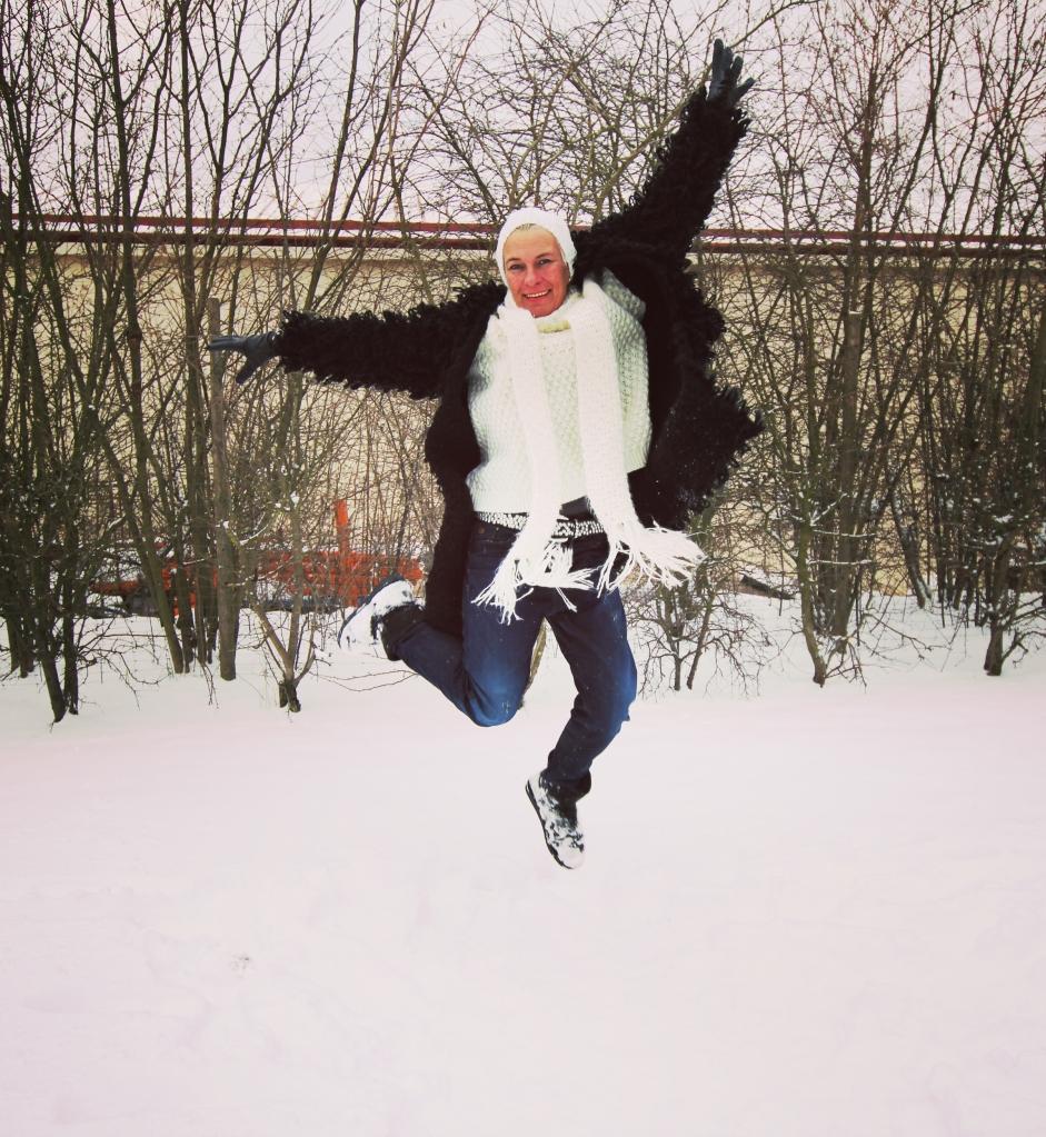 Sabine Bloggerstyle Streetstyle Schnee Snow