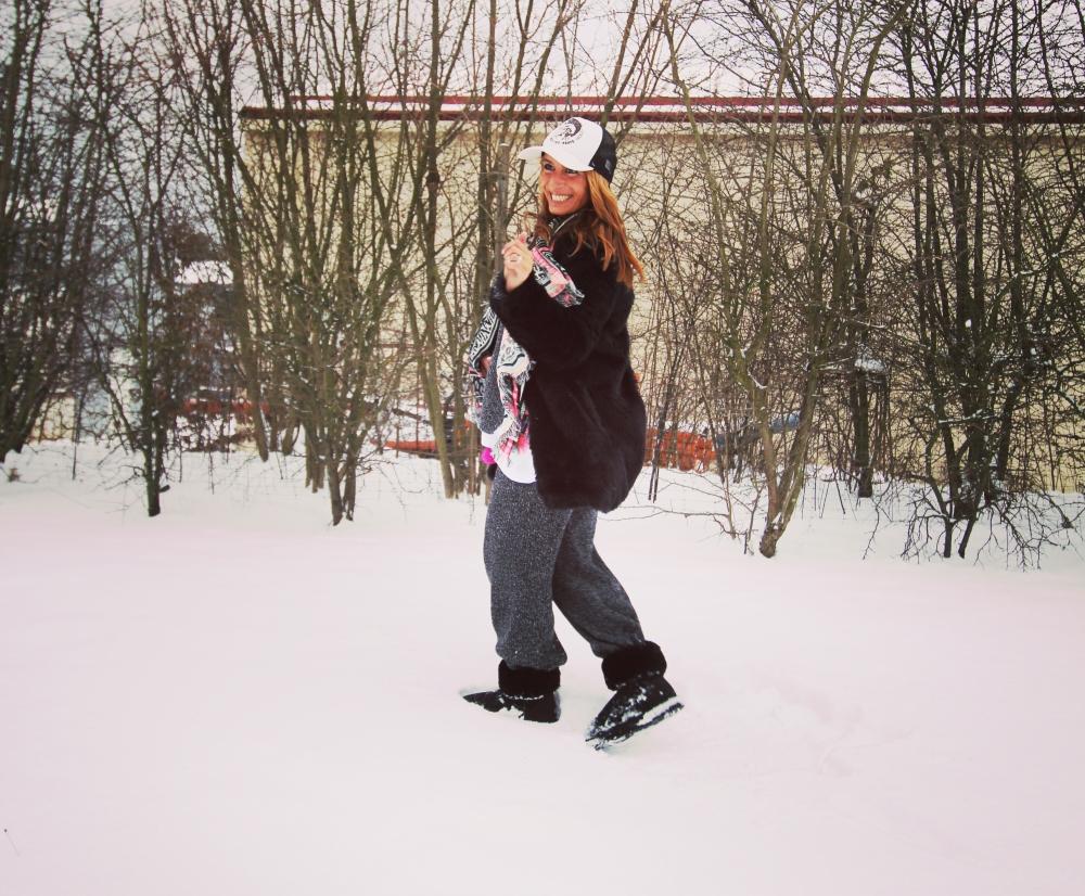 Modesalat Blogger Schnee II