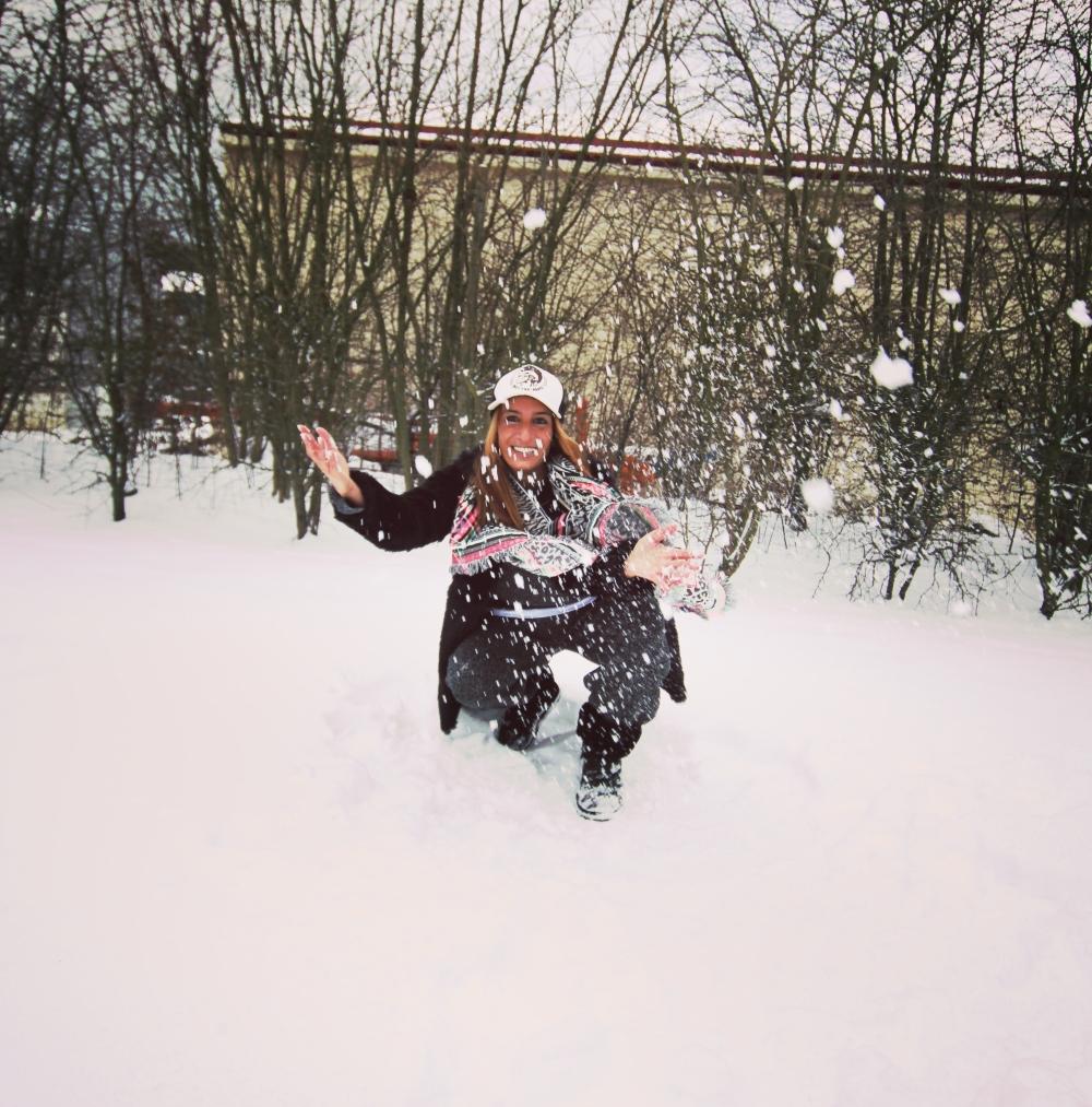 Modesalat Blogger Schnee IIIII