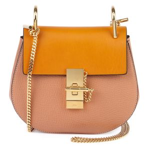 Chloe-Drew-Chain-Shoulder-Bag-Sand-Combo