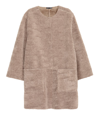 teddy coat modesalat